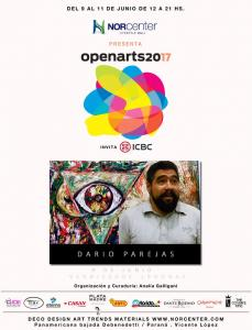 OPEN ARTS 2017 en Norcenter Lifestyle Mall - Dario Parejas